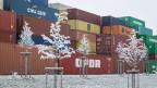 Symbolbild: Eisige Zeiten im Welthandel wegen Handelshemmnissen.