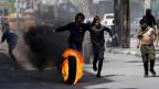 Nach den gestrigen tödlichen Auseinandersetzungen in Gaza kam es am Samstag zu Protesten im Westjordanland.