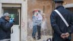 Kommt es bald zum Bruderkuss zwischen Lega-Chef Salvini und Cinque-Stelle-Chef Di Maio? Vorerst nur auf dem Graffiti.