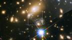Der Stern «Ikarus» ist im «Hubble»-Teleskop zu sehen.