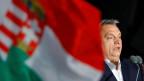 Viktor Orban nach seinem dritten Wahlsieg.