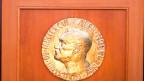 Nobelpreis-Medaille.
