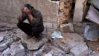 Grosse Verzweiflung in Duma, Syrien.