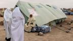 Flüchtlingslager in Libyen.