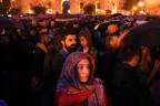 Demonstration gegen die Regierung in Erewan