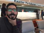 Der Syrer Hassan al Kontar am Flughafen Kuala Lumpur