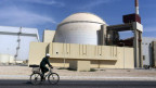 Das Buschher Atomkraftwerk in Teheran, Iran.