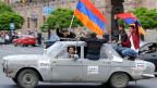 Proteste in Armeniens Hauptstadt Eriwan.