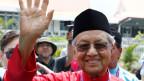 Der ehemalige malaysische Premierminister Mahathir Mohamad.