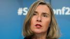 In Brüssel zweifelt EU-Aussenbeauftragte Federica Mogherini an der Beweiskraft von Netanjahus Dokumenten.