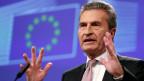 EU-Haushaltskommissar Günther Oettinger.