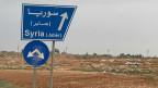 Grenzübergang zwischen Syrien und Jordanien. Bild: Susanne Brunner.
