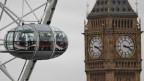 Sicht auf den Big Ben in London.