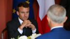 Emmanuel Macron ist in Australien zu Besuch.