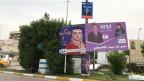 Wahlplakate in Bagdad.