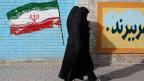 Zwei Frauen in Teheran, Iran.