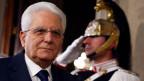 Sergio Mattarella, Staatspräsident von Italien. Er allein sucht den Premierminister aus.
