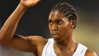 Die südafrikanische Läuferin Caster Semenya.