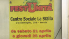 Werbeplakat der Sozialdemokraten in Imola.