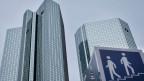 Die Deutsche Bank in Frankfurt.