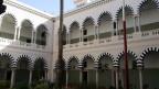 Zu sehen ist das Collège Sadiki in Tunis, eine der traditionsreichsten Schulen Tunesiens und Unesco-Welterbe. Hier ging auch Staatsgründer Habib Bourguiba zur Schule.
