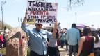 Lehrerstreik in Oklahoma City.