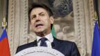 Giuseppe Conte, neuer Premierminister in Italien.