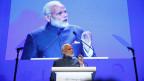 Indiens Premier Narendra Modi auf dem Asien-Sicherheitsgipfel.