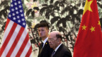 US-Wirtschaftsminister Wilbur Ross in China.