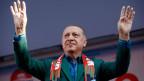 Recep Tayyip Erdogan, türkischer Präsident.