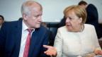 Bundekanzlerin Angela Merkel und Innenminister Horst Seehofer.
