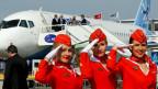 Flugbegleiterinnen bei Aeroflot.