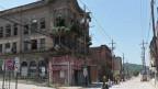 Verfallenes Gebäude im Rust-Belt der USA.