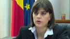 Laura Kövesi, die Chefin der Antikorruptionsbehörde DNA.