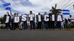 In Nicaragua fordern Demonstranten Gerechtigkeit.