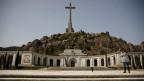 Das umstrittene Mausoleum im 50 Kilometer von Madrid entfernten Valle de los Caidos.