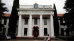 Memorial Museum und ehemalige ESMA Navy Schule und Internierungslager in Buenos Aires, Argentinien.