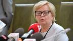Gerichtsvorsitzende Malgorzata Gersdorf ignorierte ihre per Gesetz erzwungene Pensionierung und erschien zur Arbeit am Warschauer Gericht.