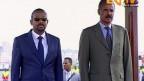 Der äthiopische Ministerpräsident Abiy Ahmed (links) traf erstmals den eritreischen Präsidenten Isaias Afwerki.
