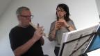 Alfons Zortea, 73-jährig, ist Anfänger und nimmt seit gut einem halben Jahr Flötenstunden bei der Flötistin Christiane Dick.