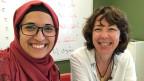 Nusaibah Hamad, Arabischlehrerin am Sijal Institute in Amman, und ihre Schülerin Susanne Brunner.