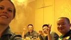 Gäste im Chinarestaurant «Chengdu Impression» in Nairobi.
