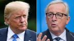US-Präsident Donald Trump (links) und EU-Kommissionspräsident Jean-Claude Juncker.
