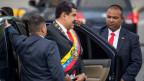 Maduro einem Anschlag entkommen