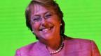 Michelle Bachelet, am Tag ihrer Wahl zur chilenischen Staatspräsidentin 2013.