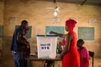 Wahllokal in Bamako