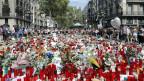 Nach dem Attentat vom 17. August 2017 in Barcelona.