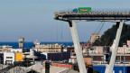Ohne die Brücke fehlt das Bindeglied zwischen den verschieden Hafenbecken Genuas.