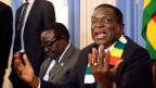 Simbabwes Präsident Emmerson Mnangagwa.