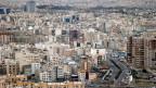 Blick über die iranische Hauptstadt Teheran.